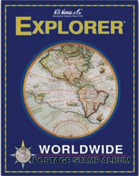 HE Harris Junior Stamp Album  -- Explorer (Worldwide)
