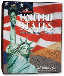 HE Harris Stamp Album Modern US Liberty Binder (2.5-inch, 3-ring)