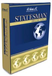 HE Harris Stamp Album Statesman Binder (3-inch, 2-post)