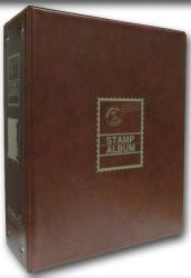 HE Harris Stamp Album Worldwide Heirloom Binder (3.5-inch, 2-post)