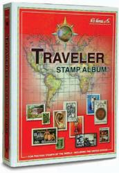 HE Harris Stamp Album Traveler (Worldwide) Binder