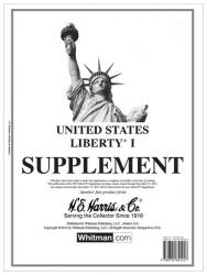 HE Harris Stamp Album Supplement -- Liberty I