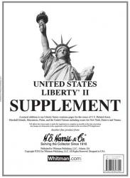 HE Harris Stamp Album Supplement -- Liberty II