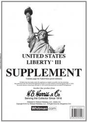 HE Harris Stamp Album Supplement -- Liberty III