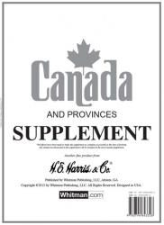 HE Harris Stamp Album Supplement -- Canada