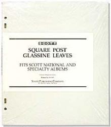 Scott Glassine Interleaving 3-Ring /2-Post Specialty/National