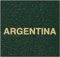 Scott Specialty Series Green Binder Label: Argentina