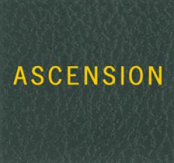 Scott Specialty Series Green Binder Label: Ascension