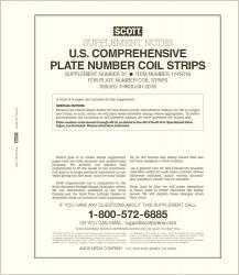 Scott Stamp Album Supplement -- US Comprehensive Plate Number Coil Singles