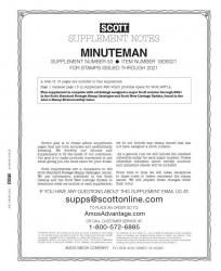 Scott Stamp Album Supplement -- US Minuteman