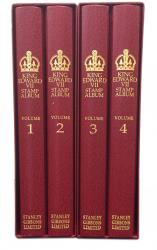 Stanley Gibbons King Edward VII Great Britain Stamp Album Set 1901-1910