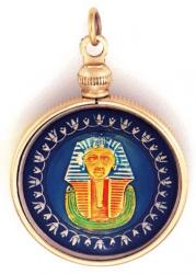 Hand Painted Egypt 1 Pound Sphinx Pendant